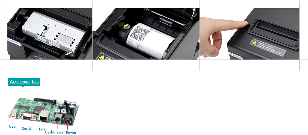 xpt58l mini receipt printer xpe200l for shop Xprinter