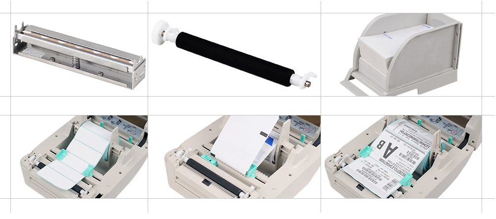 Xprinter cheap barcode label printer from China for shop-3