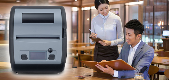 Wifi connection wifi label printer directly sale for store-1