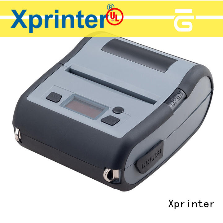 Xprinter long standby portable label printer directly sale for store
