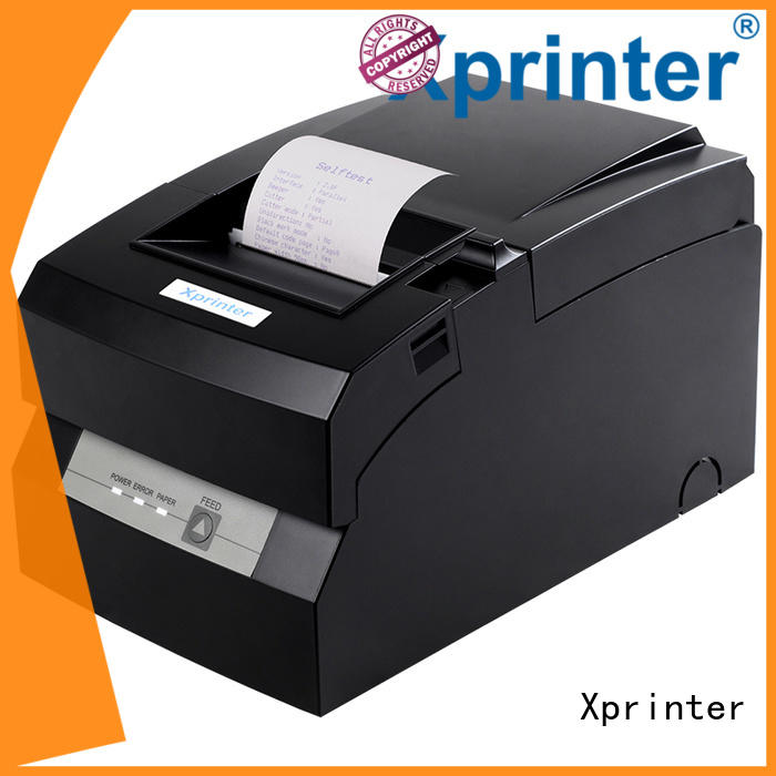 Xprinter sturdy dot matrix pos printer customized for storage