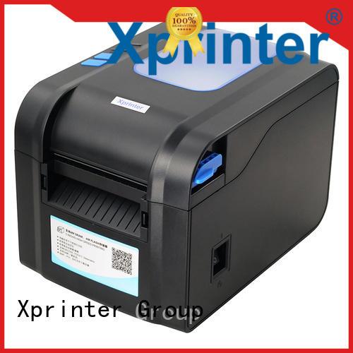 Xprinter bluetooth barcode labelprinter design for storage