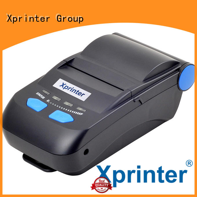 large capacity portable bluetooth thermal receipt printer design for store