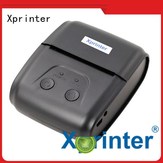 large capacity mobile pos printer design for shop