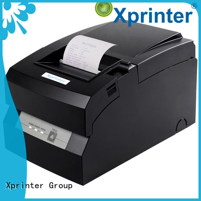 Xprinter reliable serial pos printer black for mall