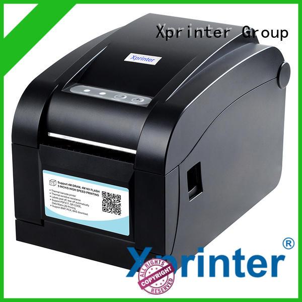 Xprinter handheld barcode label maker design for post