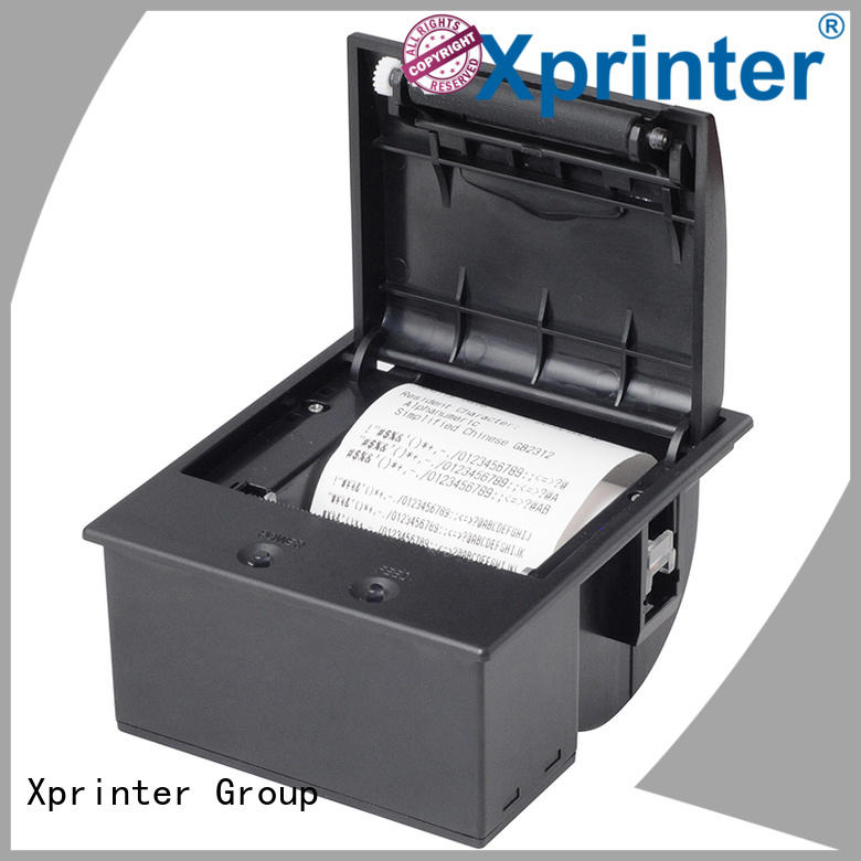 Xprinter durable panel mount printer customized for catering