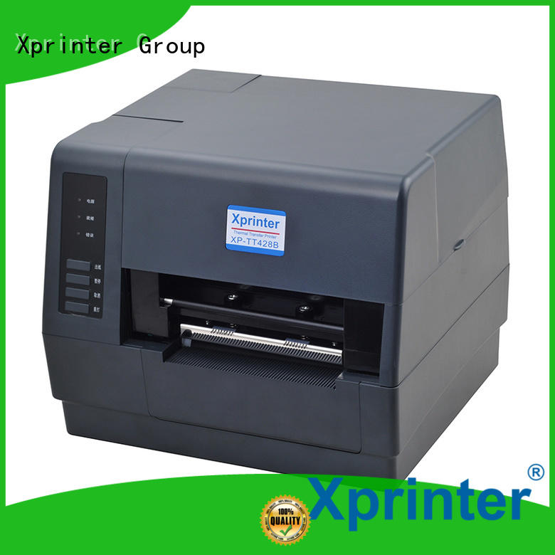 Xprinter large capacity thermal transfer label printer with good price for shop