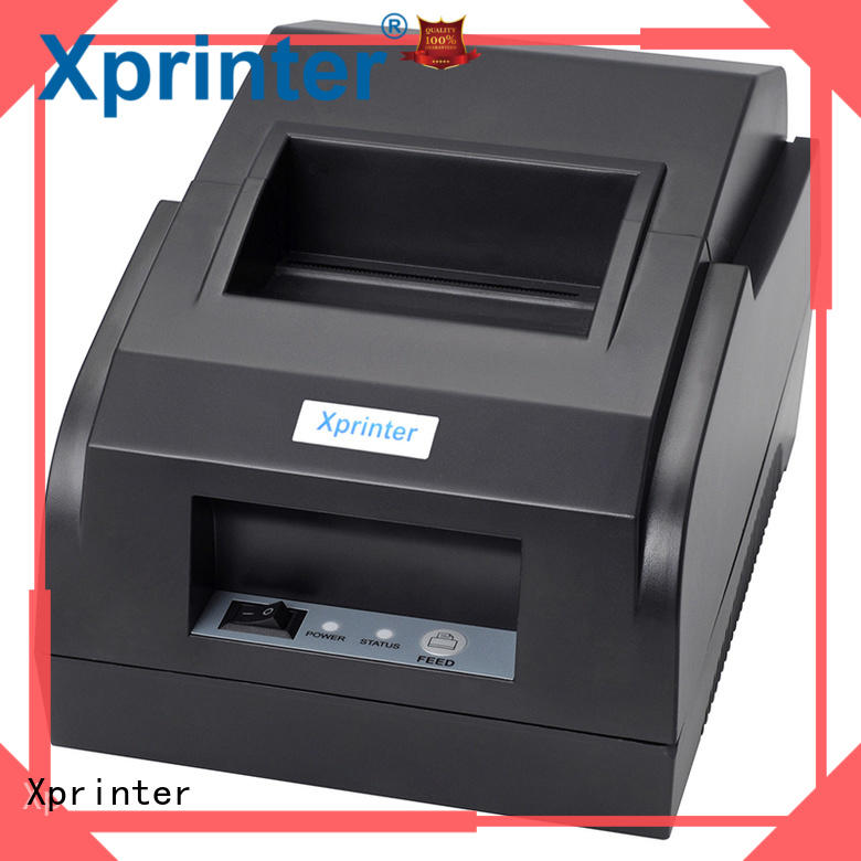 Xprinter 58mm thermal receipt printer personalized for store