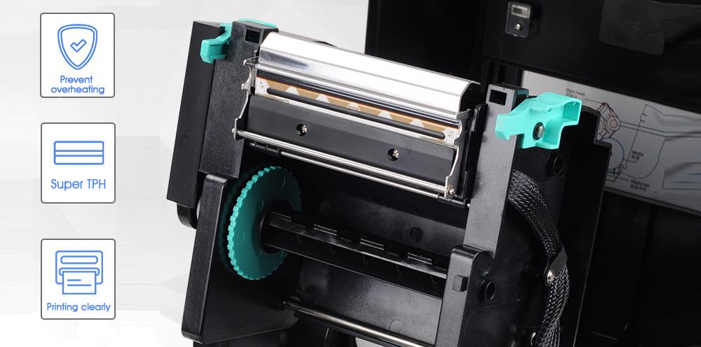 dual mode pos label printer design for store-3