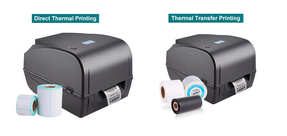 dual mode pos label printer design for store-2