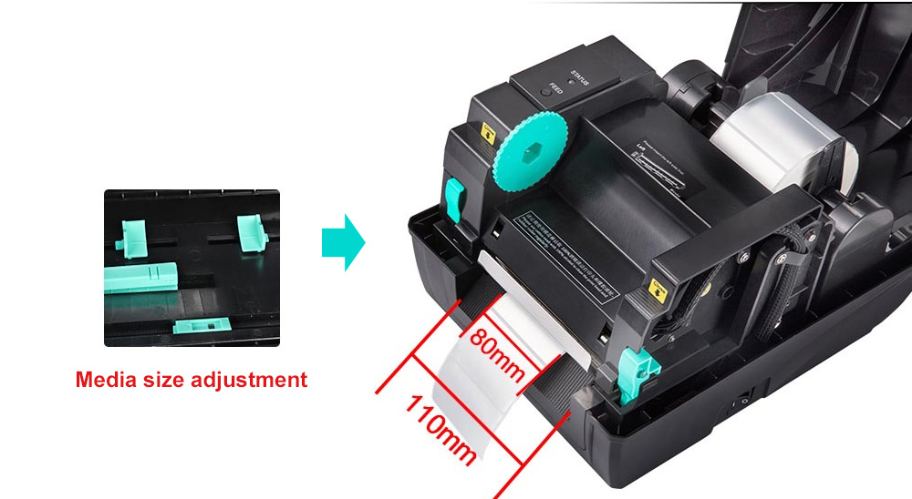 Xprinter portable wifi thermal printer inquire now for shop-4