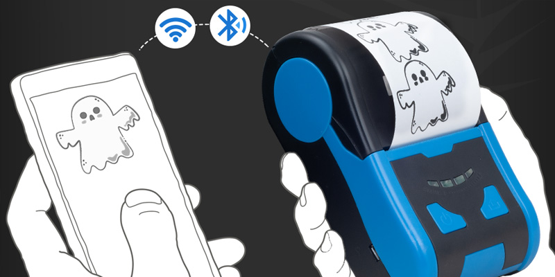 Wifi connection mobile receipt printer bluetooth factory for tax-1