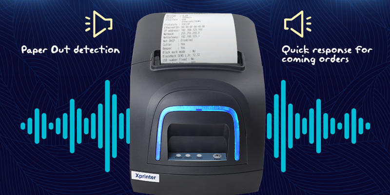 Xprinter lan cheap bluetooth receipt printer with good price for store