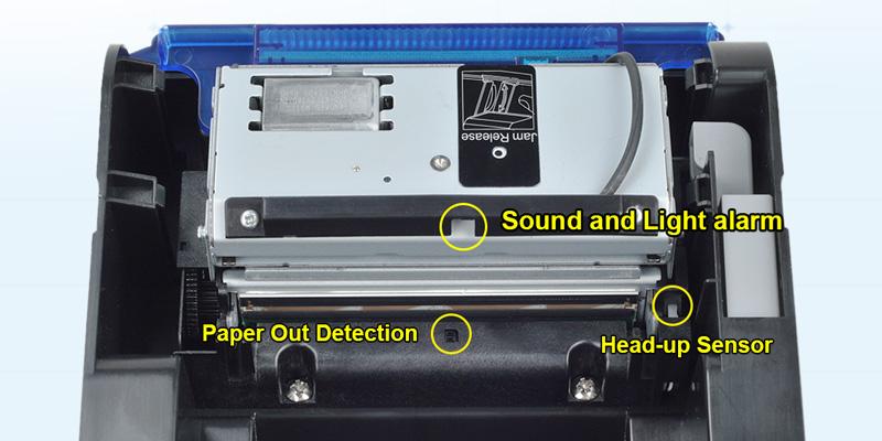 Xprinter multilingual receipt printer for pc design for mall-1