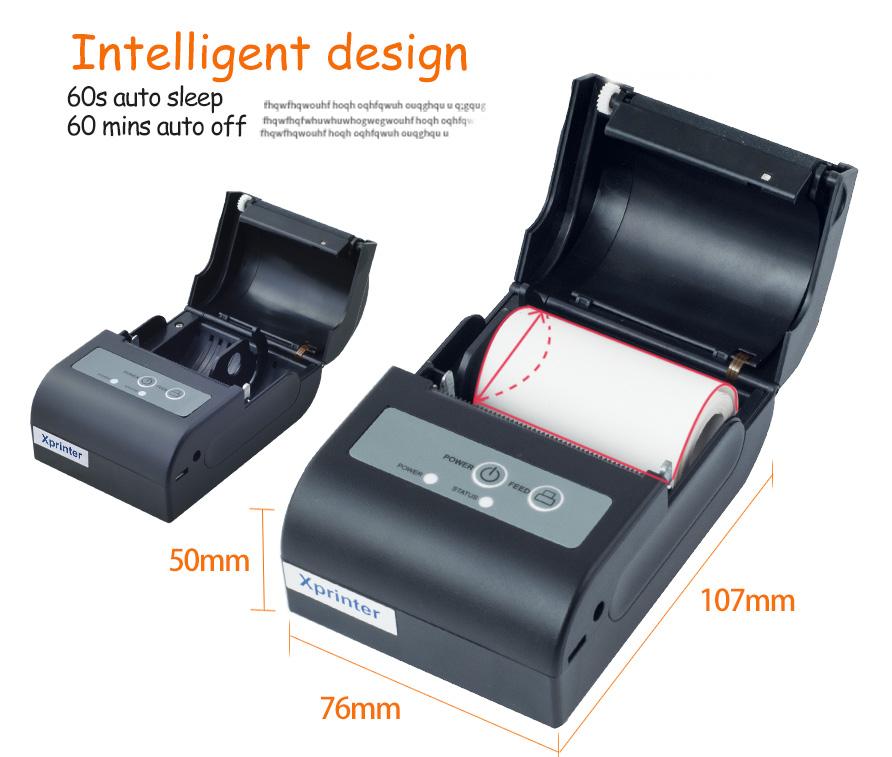 dual mode cash receipt printer design for shop-2