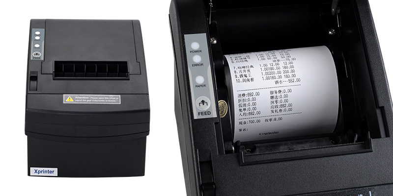 Xprinter standard 80mm thermal receipt printer factory for mall-1