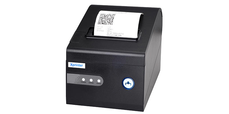 multilingual 80mm bluetooth printer xp58iiq design for mall