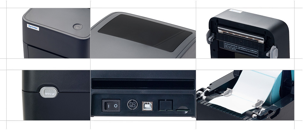 product labeling pos network printer customized for tax-3