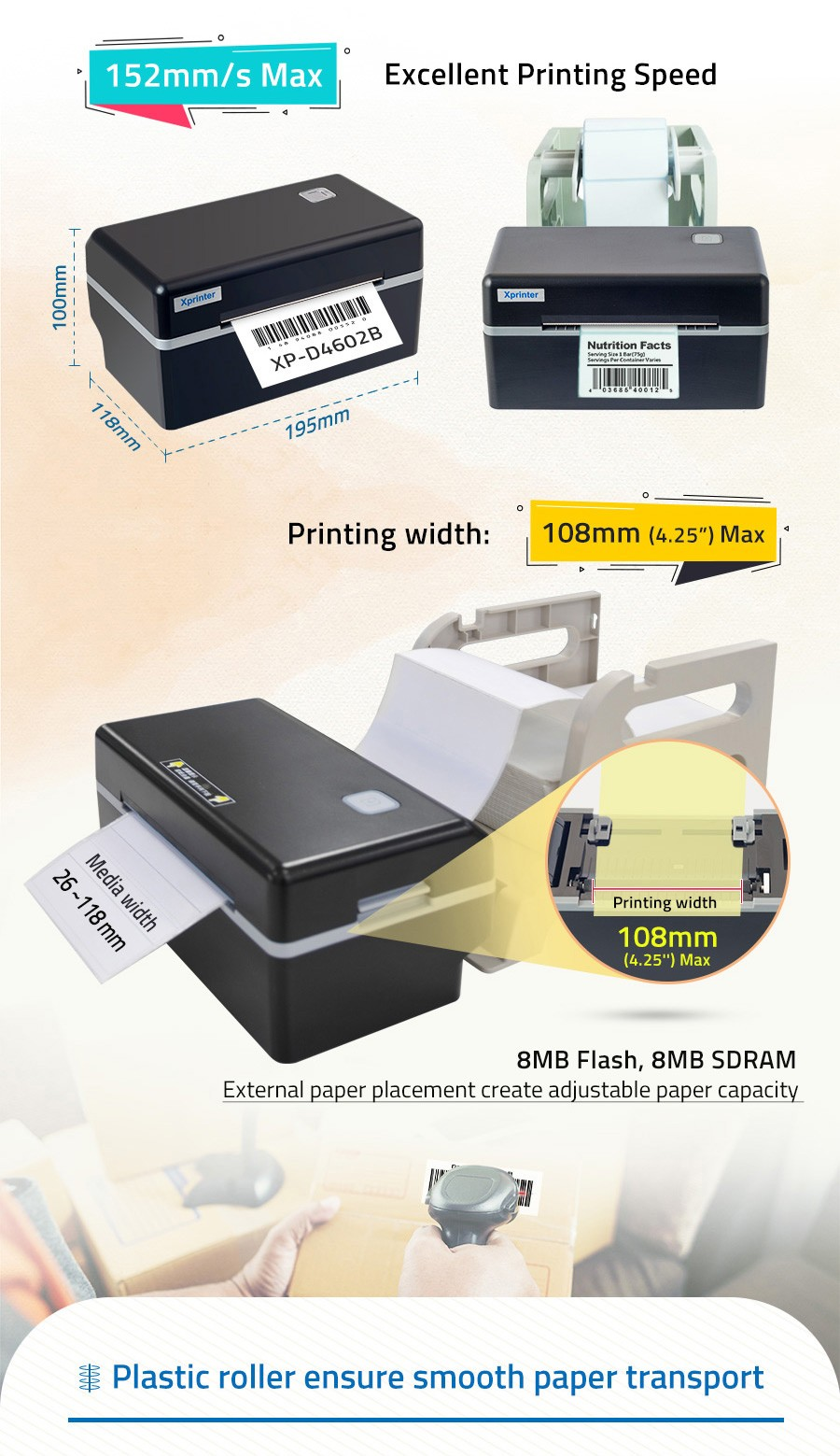 product labeling free barcode label maker manufacturer for catering-3