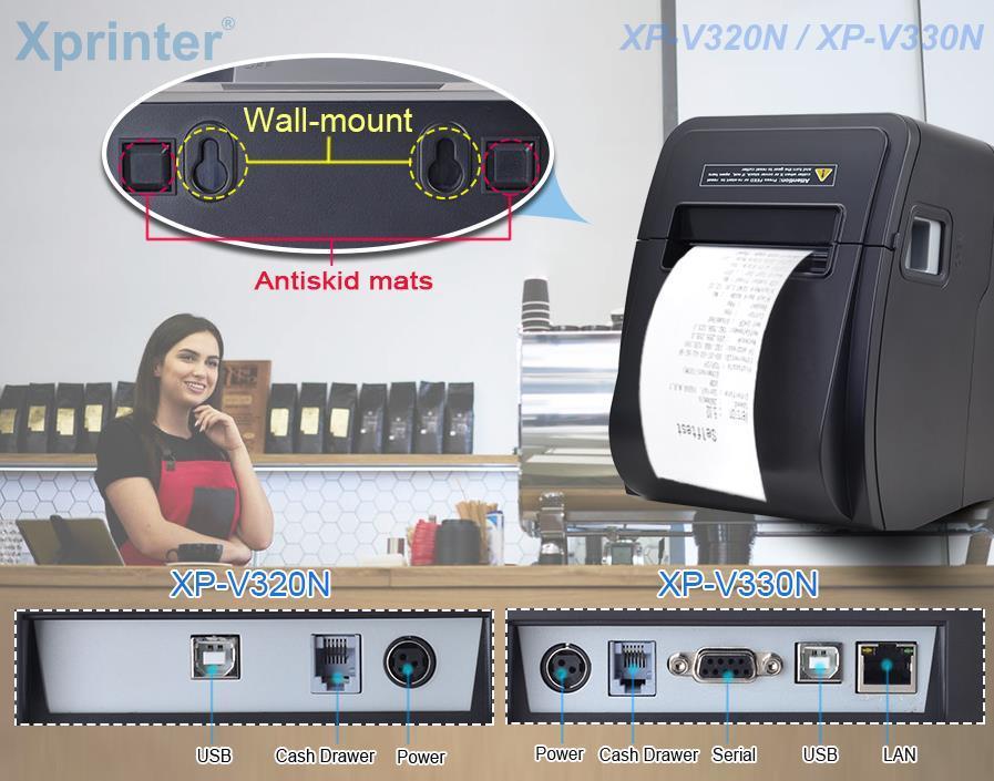 cheap bluetooth receipt printer for retail Xprinter-3