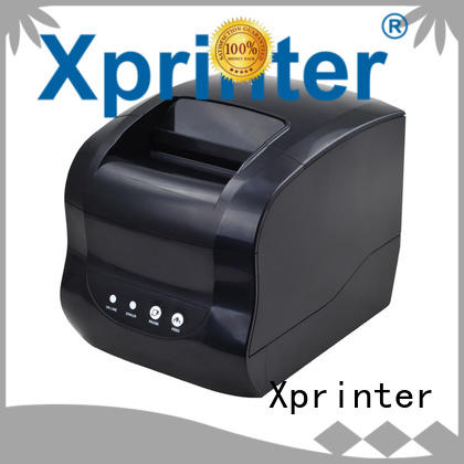 Xprinter direct thermal label printer with good price for post
