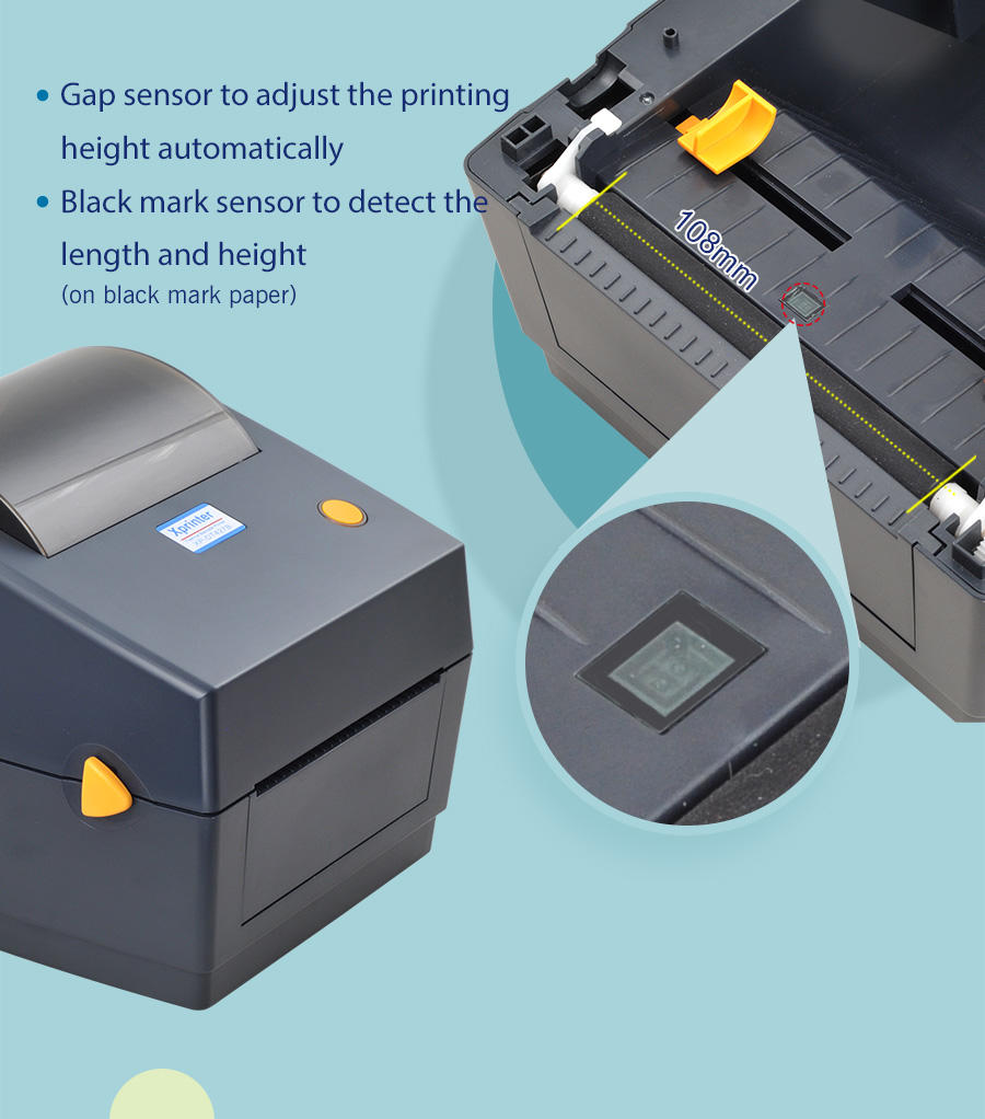 product labeling portable barcode label printer customized for tax-2