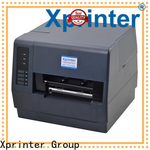 portable barcode label printer design for shop