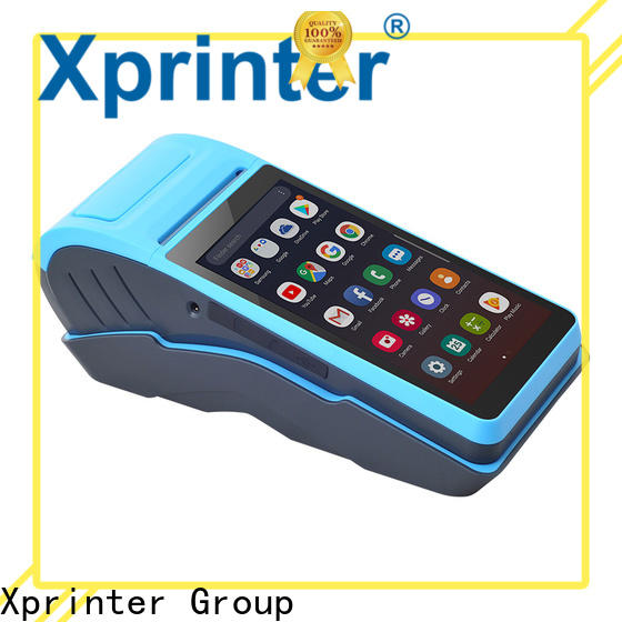 quality handheld invoice printer design for catering