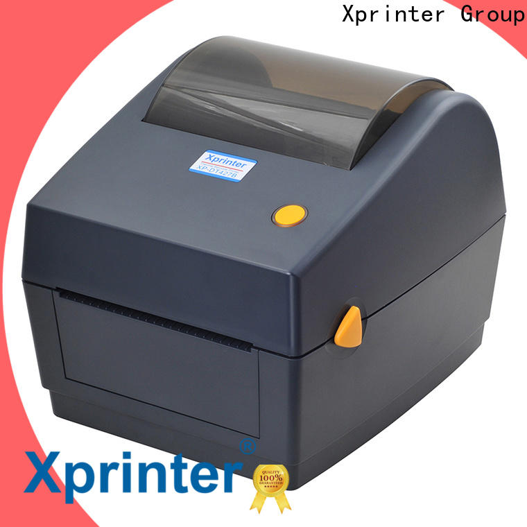 Xprinter portable thermal label printer customized for store