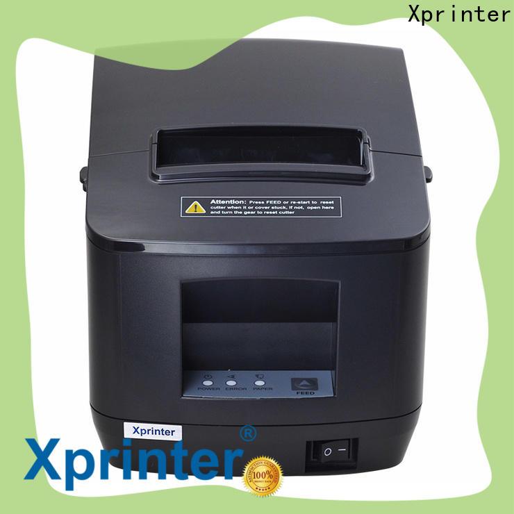 standard 80mm thermal receipt printer design for retail