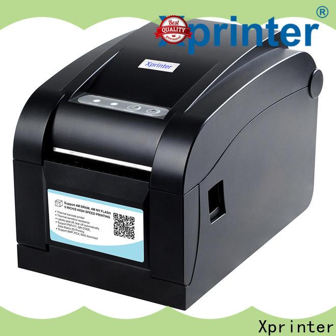 Xprinter handheld barcode label maker design for medical care