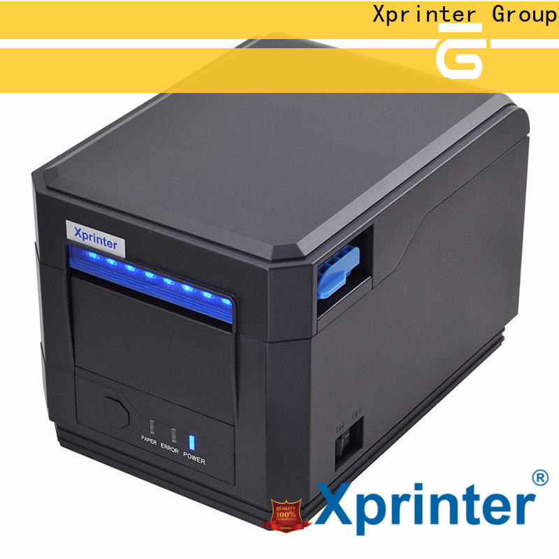 Xprinter multilingual square receipt printer design for store