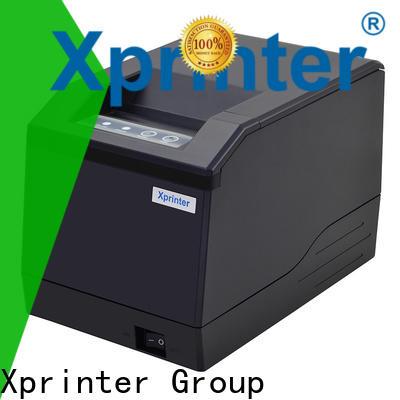 Xprinter handheld barcode label maker design for supermarket