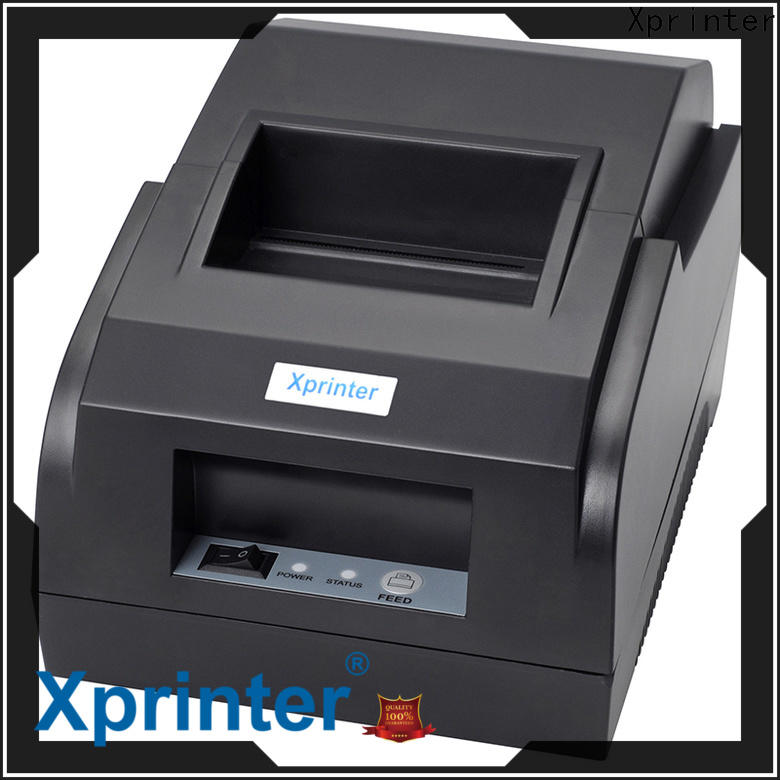 monochromatic usb powered receipt printer personalized for store
